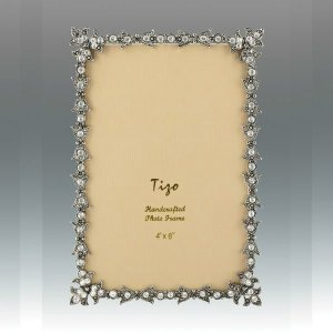 Tizo Design Jeweltone Frame with Crystals 4x6 RS116046