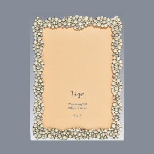 Tizo Design Jeweltone Frame with Crystals 4x6 RS63846