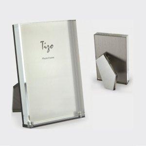 Tizo Design SIlver Lucite Frame HA158SL