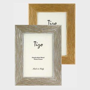 Tizo Design Silver Wood Frame 200SIL