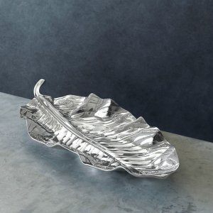 Beatriz Ball GARDEN Zebra Leaf Platter - LARGE-5997