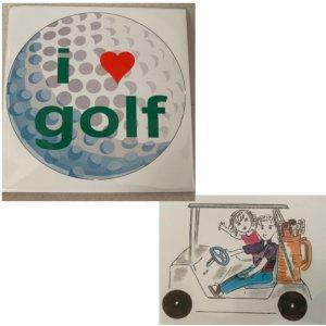Golf Trivet & Blank Notecards