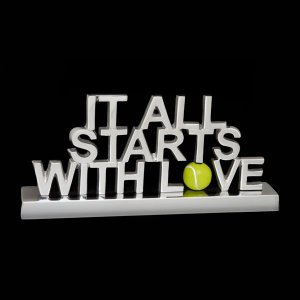 It All Starts With Love Sign