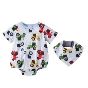 "Mud Pie <a href=""https://lifestylesgiftware.com/product/tractor-bubble-and-bib-set-by-mud-pie/"">Tractor Bubble & Bib Set</a>"