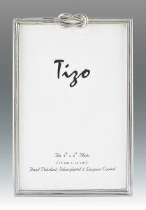 "Tizo Design Slim <a href=""https://lifestylesgiftware.com/product/tizo-design-slim-single-knot-silver-plate-frame-8x10/"">Single Knot Silver Plate 8x10 Frame</a>"