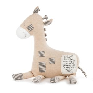 Noah's Ark Giraffe Pillow