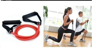 Tubing-with-Soft-Handles-Resistance-Bands-Exercise-Band-with-foam-handle-for-Yoga-ABS-workout