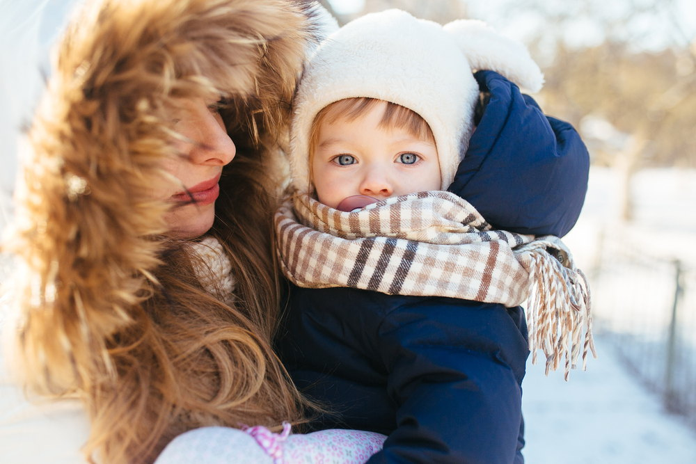 Baby care in winters
