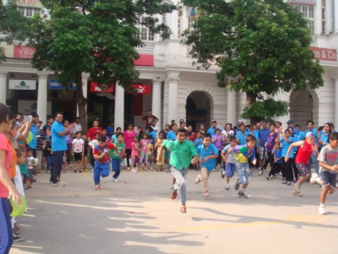 Running Race at Raahgiri Day