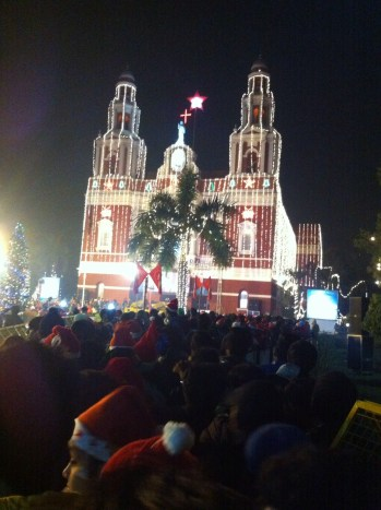 Christmas at Sacred Heart Church New Delhi