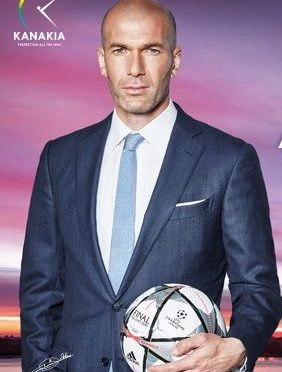 Zinedine Zidane : brand ambassador of Upcoming Paris Inspired Residential Complex in Mumbai
