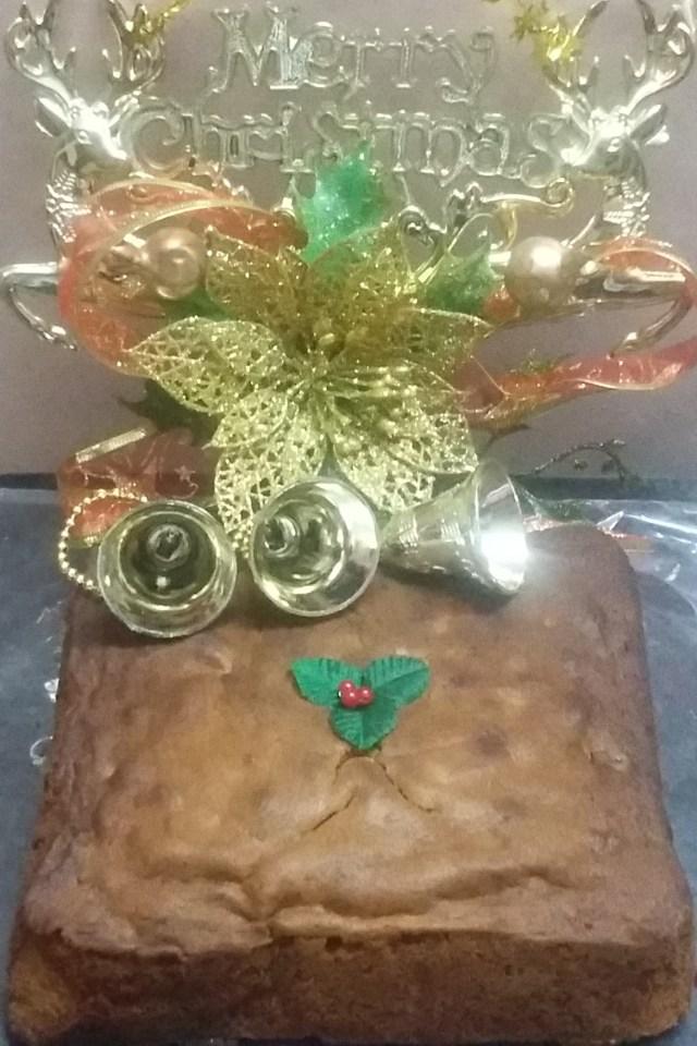 Christmas Rum Plum Cake