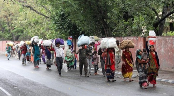 Migrant workers are not beggars