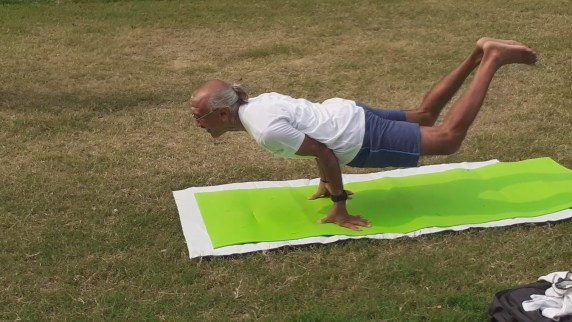 A DAY IN THE PARK AND YOGA