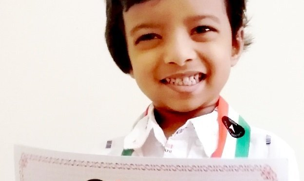 3-year-old in india book of records for identifying brands