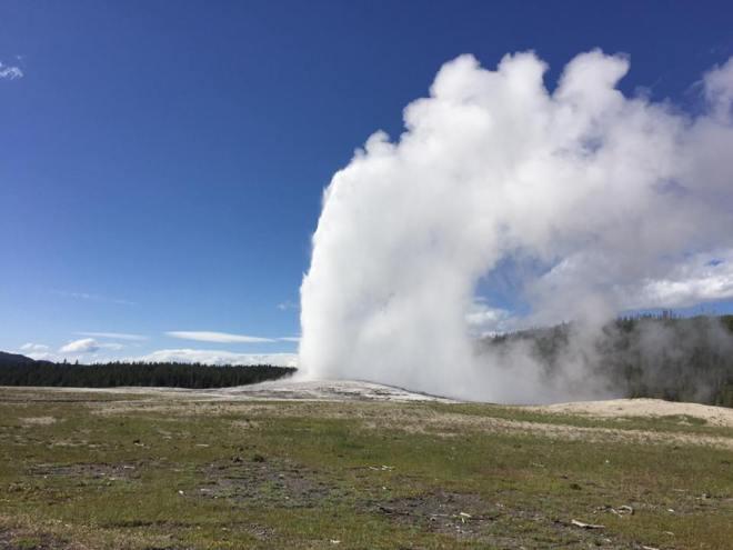 geyserblowing