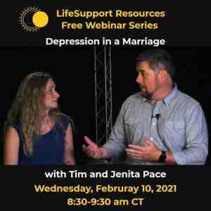 Depression in a Marriage Mental Health Webinar