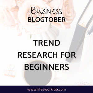 Trend Research For Beginners Cover