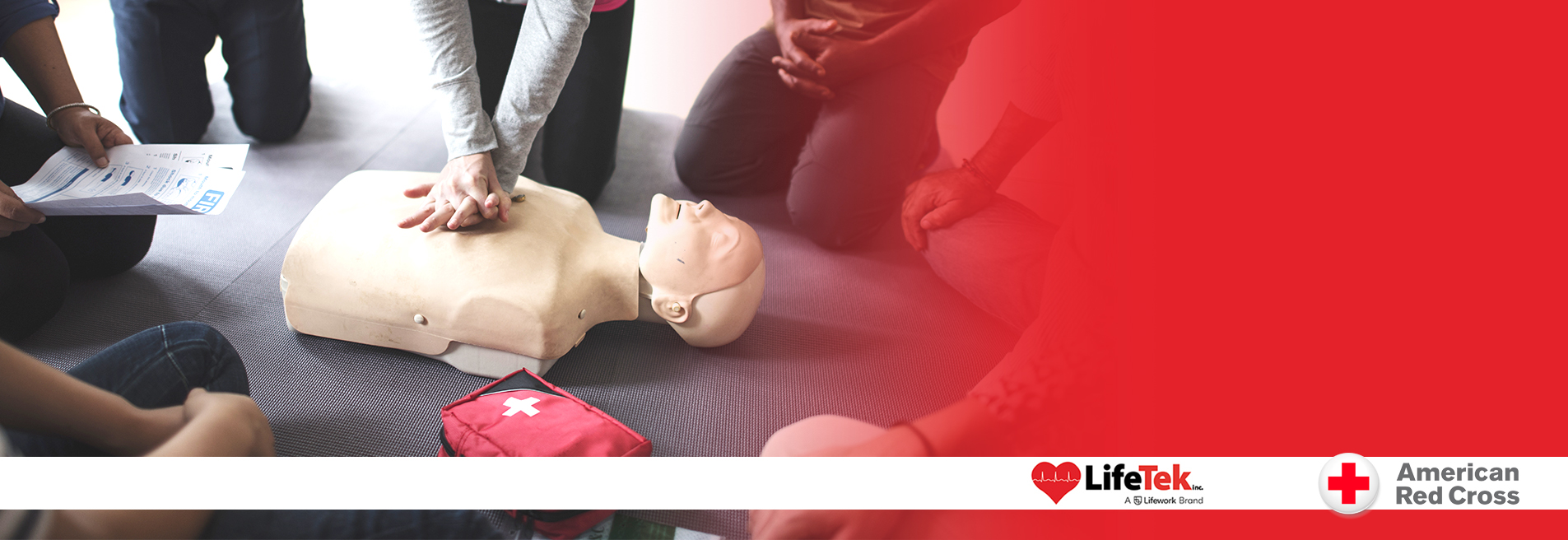 American Red Cross First Aid with CPR/AED Class