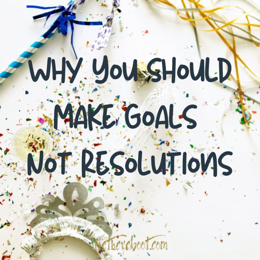 goal setting resolutions