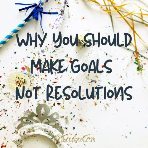 goal setting resolutions