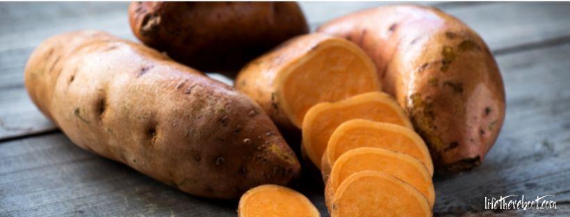 sweet potatoes food immune system