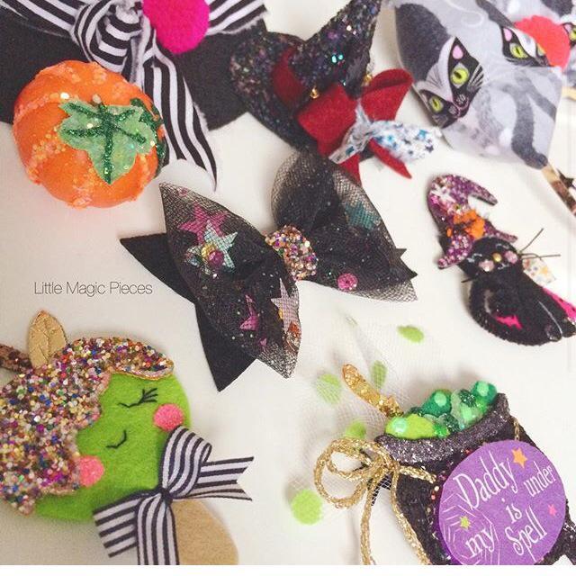 Little Magic Pieces Halloween Hairclips
