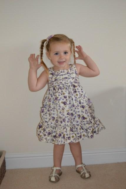 P in her TkMaxx Dress