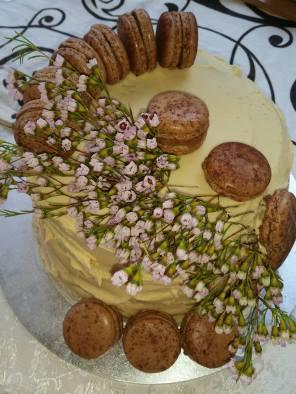Caramel mud cake gluten free