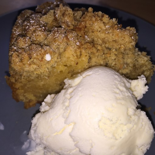 Apple Crumble Cake (The Annoyed Thyroid)