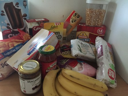Various pantry items straight out of my pantry!