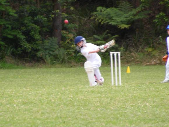 first cricket shots of our boy