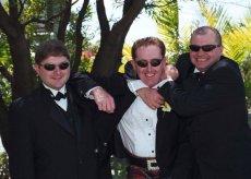 His groomsmen