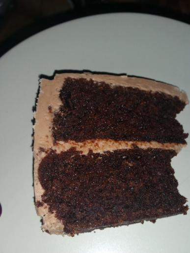 Baby Mac's Anne choc cake made with gluten free flour