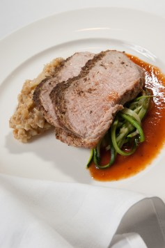 The Meal: Roast Provimi Veal Striploin © Steve Grimes