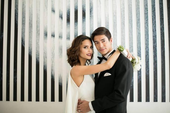 beautiful couple in a beautiful photograph