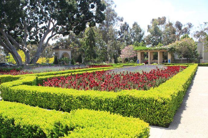 Alcazar Garden, Balboa Park
