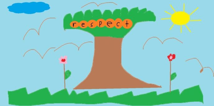 respect is like a tree, it starts from the seed but it needs nurturing to grow