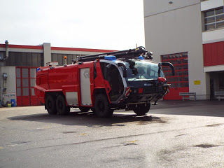 big fire engine rosenbauer