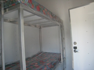 Undecorated Double Bunk Room