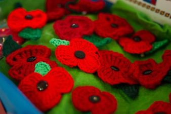 Crocheted Poppies 2