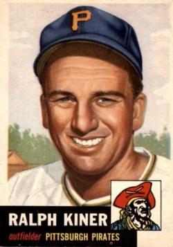 1953 Topps Ralph Kiner