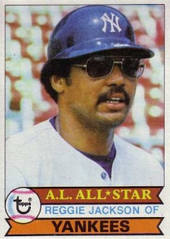 1979 Topps Reggie