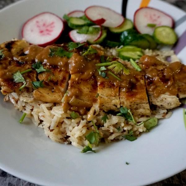Chicken Satay Recipe and wine pairing