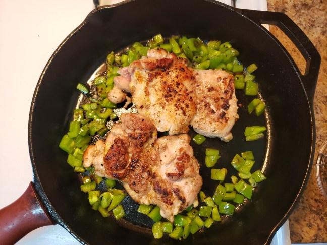 Cilantro Chicken and Rice 6