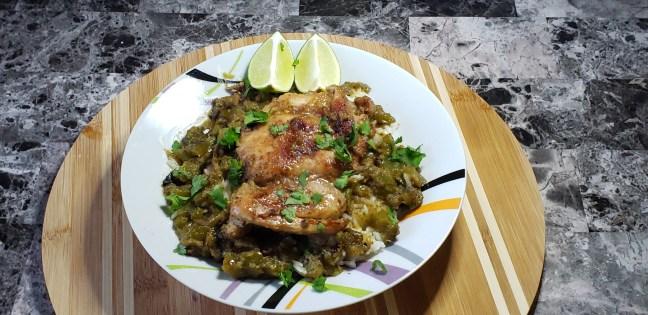 Cilantro Chicken and Rice 10