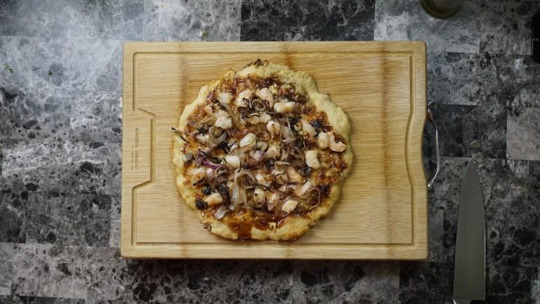 BBQ Shrimp Pizza 2