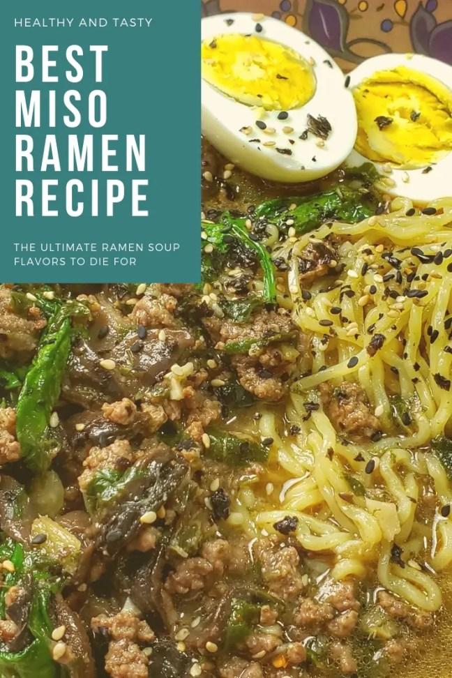 Mushroom & Spinach Miso Ramen Recipes 2
