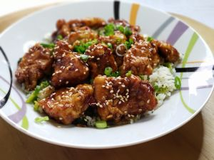 Sesame Chicken Tips for frying chicken and wine pairing