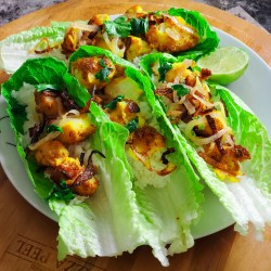 Vietnamese Fish Lettuce Wraps